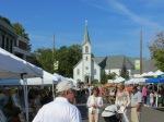 Harbor Springs, Main Street farmers market