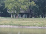 Raised home after flooding.  Some were raised & others had not been yet.  Very bad flooding last spring here.