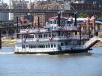 Party/tour boat on Miss. River by St. Luis, River