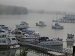 Trawlers departing 10/18/13 from Joe Wheeler after rendezvous in fog after delaying the departure a couple hours.