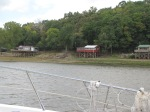 Lifted cottages along the Illinois River.  They have to be 10' to 15' up & that may not be enough.