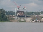 Construction on the Olmsted Lock to be completed in 2014.  NOT LIKILY!