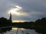Sunrise @ Tombigbee Ox Bow below Heflin anchorage