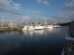 Pensicola, FL @ St. Andrews Marina.  Oysters tonight & you can see the source.