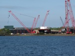 Tanker commercial vessel construction facility
