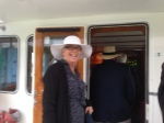 """Cindy Lavallee aboard Quimby in """"Proper Atire"""
