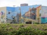 Mural on building along GICW froom Sarasota ot Venice