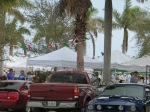 Farmers Market in Ft. Pierce, FL on Saturdays.  Great place to go and have breakfast.