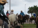 At Farmers Market the Annual Cracker   Trail Ride.  Great Fun