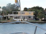 Water view of Roger & Cindy's new home in Englewood, FL on Manisota Key