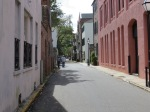 Side street of old Charleston SC