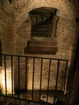 he Old Exchange & Provost Dungeon of Charleston, SC original entrance to dungeon