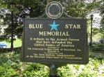War Memorial across Severn River