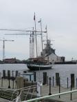 The Rover docked in Norfolk, VA