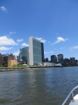 The UN from the East River