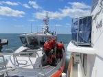 Coast Guard Boarding in Fishers Island Sound