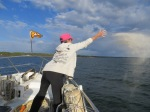 Fairwell to Tom @ Prudence Island, Narragansett Bay, RI , May 19th, 2014